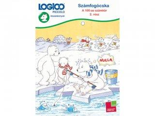 LOGICO Piccolo, Számfogócska: 100-as számkör 2. rész (3479, egyszemélyes, matematikai, fejlesztő játék, 5-8 év)