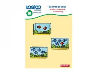 LOGICO Piccolo, Számfogócska: Adatok, gyakoriság, valószínűség (5455, fejlesztő feladatlapok 5-8 év)