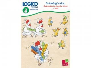 LOGICO Piccolo, Számfogócska: Összeadás és kivonás 100-ig 1. rész (3480, egyszemélyes, matematikai, fejlesztő játék, 5-8 év)