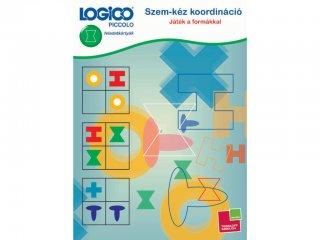 LOGICO Piccolo Szem-kéz koordináció - Játék a formákkal (3464, egyszemélyes, vizuális, logikai, fejlesztő, 5-8 év)