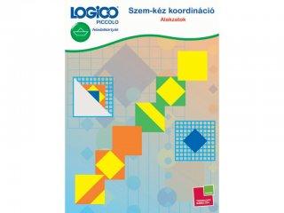 LOGICO Piccolo, Szem-kéz koordináció: Alakzatok (3466, egyszemélyes, vizuális, logikai, fejlesztő játék, 5-8 év)