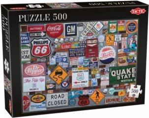 Logók, 500 db-os puzzle (Tactic, 53341, puzzle 500 db, 6-99 év)