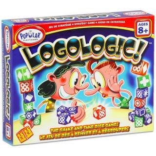 Logologic (Popular, párosító kockajáték, 6-99 év)