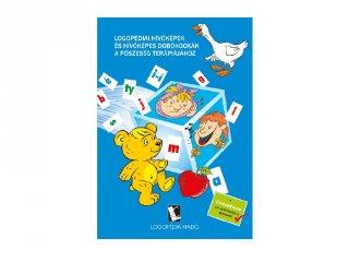 Logopédiai hívóképek és dobókockák a pöszeség terápiájához, logopédiai fejlesztő kiadvány