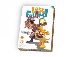 Lost & Found nyomozós kártyajáték, memóriajáték (6-10 év)