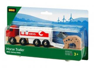 Lószállító (Brio, vonatos fajáték, 3-10 év)