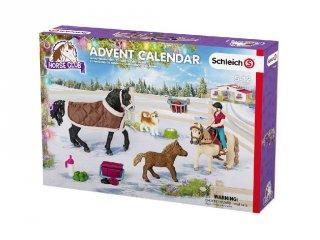 Lovas adventi naptár (Schleich, adventi ajándék, 3-10 év)