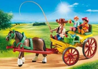 Lovaskocsi, Playmobil szerepjáték (6932, 4-10 év)