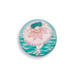 Lovely Badges Djeco kitűzők, balerina - 3852 (5 db)