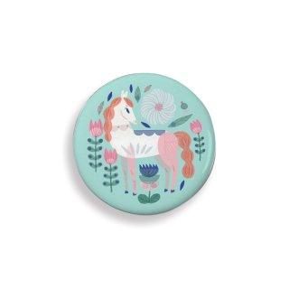 Lovely Badges Djeco kitűzők, lovak - 3851 (5 db)