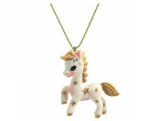 Lovely Charmes Djeco nyaklánc lovas medállal - 3804