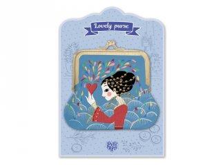 Lovely Purse Djeco pénztárca, Heart - 3861