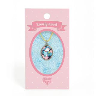 Lovely Sweet Djeco nyaklánc cicás medállal - 3820