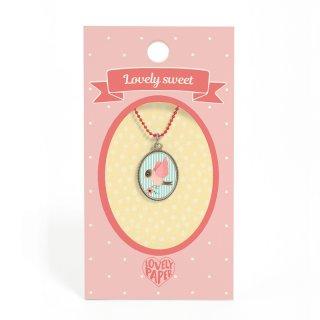 Lovely Sweet Djeco nyaklánc madaras medállal - 3825