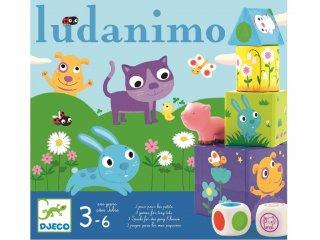 Ludanimo (Djeco, 8420, három társasjáték egyben, 2-6 év)