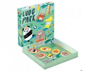 Ludo Park játszótér (Djeco, 1698, 4 játék egyben, 3-6 év)