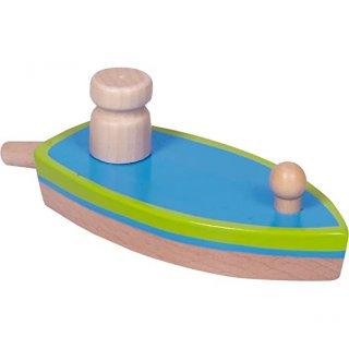 Lufival hajtható hajó fából, Spiegelburg Wild and Cool ügyességi játék (14466, 1 db)