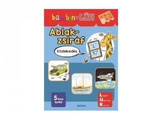 Lük Bambino Ablak-zsiráf közlekedés, egyszemélyes fejlesztő logikai játék (5-6 év)