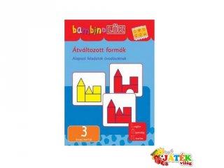 Lük Bambino, Átváltozott formák (egyszemélyes fejlesztő, logikai játék, 3-5 év)