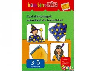 Lük Bambino, Csalafintaságok színekkel és formákkal (egyszemélyes fejlesztő, logikai játék, 3-5 év)