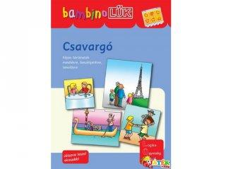 Lük Bambino, Csavargó - mesélések, történetek (egyszemélyes fejlesztő, logikai játék, 3-5 év)