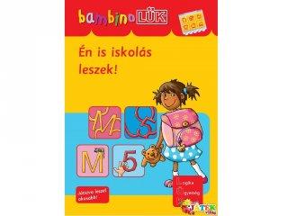 Lük Bambino, Én is iskolás leszek! (egyszemélyes fejlesztő, logikai játék, 4-6 év)
