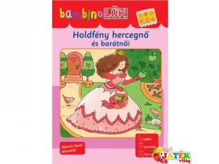 Lük Bambino, Holdfény hercegnő és barátnői (egyszemélyes fejlesztő, logikai játék, 3-5 év)