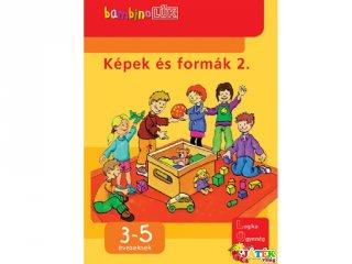 Lük Bambino, Képek és formák 2. (egyszemélyes fejlesztő, logikai játék, 3-5 év)