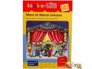Lük Bambino, Marci és Marcsi cirkusza (egyszemélyes fejlesztő, logikai játék, 3-5 év)