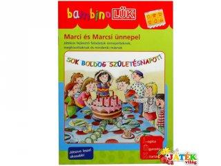 Lük Bambino, Marci és Marcsi ünnepel (egyszemélyes fejlesztő, logikai játék, 3-5 év)