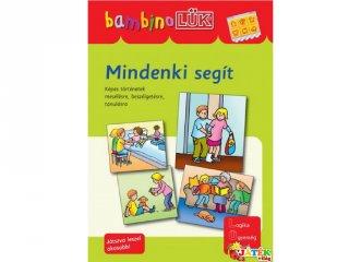 Lük Bambino, Mindenki segít (egyszemélyes fejlesztő, logikai játék, 3-5 év)