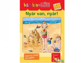 Lük Bambino, Nyár van, nyár! (egyszemélyes fejlesztő, logikai játék, 3-5 év)