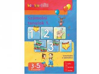 Lük bambino, Számolni tanulok 1. (egyszemélyes fejlesztő, logikai játék 3-5 év)