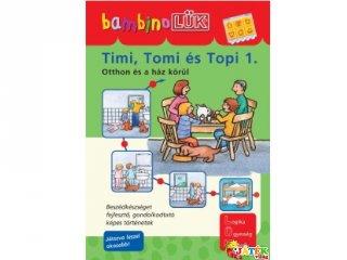 Lük Bambino, Timi, Tomi és Topi 1., Otthon és a ház körül (egyszemélyes fejlesztő, logikai játék, 3-5 év)