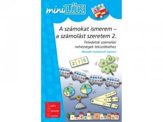 Lük Mini, A számokat ismerem - a számolást szeretem 2. (egyszemélyes, matematikai fejlesztőjáték, 7 éves kortól)