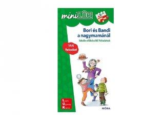 Lük Mini Bori és Bandi a nagymamánál, egyszemélyes fejlesztő logikai játék (5-8 év)