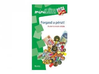 Lük Mini Forgasd a pénzt!, egyszemélyes fejlesztő logikai játék (8-10 év)