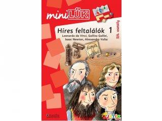 Lük Mini, Híres feltalálók (egyszemélyes, ismeretterjesztő játék, 9-10 év)