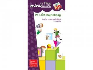 Lük Mini, IV. LÜK Bajnokság, Logika versenyfeladatok, 2. osztály (egyszemélyes, logikai fejlesztőjáték, 7-10 év)