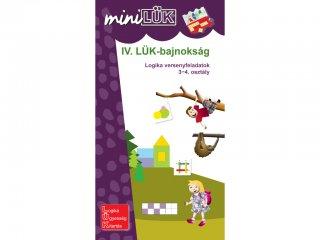 Lük Mini, IV. LÜK bajnokság, Logikai versenyfeladatok 3-4. osztály (egyszemélyes, logikai játék, 8 éves kortól)