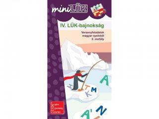 Lük Mini, IV. LÜK bajnokság magyar nyelvből, 2. osztály (egyszemélyes, fejlesztőjáték, 8 éves kortól)