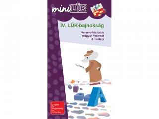 Lük Mini, IV. LÜK bajnokság magyar nyelvtanból, 3. osztály (egyszemélyes, fejlesztőjáték, 8 éves kortól)