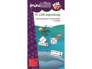 Lük Mini, IV. LÜK bajnokság matematikából, 3. osztály (egyszemélyes, logikai fejlesztőjáték, 8 éves kortól)
