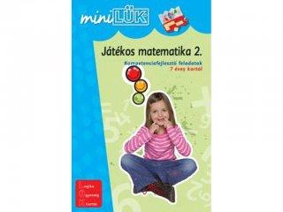 Lük Mini, Játékos matematika 2. Kompetenciafejlesztő feladatok (egyszemélyes fejlesztőjáték, 5-12 év)