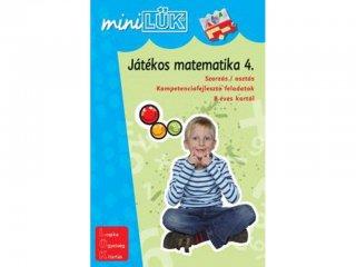 Lük Mini, Játékos matematika 4. (egyszemélyes, fejlesztőjáték, 5-12 év)