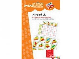 Lük Mini, Kirakó 2. (egyszemélyes, fejlesztőjáték, 8 éves kortól)