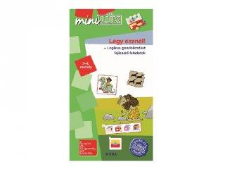 Lük Mini Légy észnél! 3-4. osztály, egyszemélyes fejlesztő logikai játék (8-11 év)