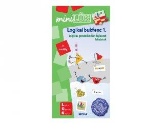 Lük Mini Logikai bukfenc 1. 2. osztály, egyszemélyes fejlesztő logikai játék (7-9 év)