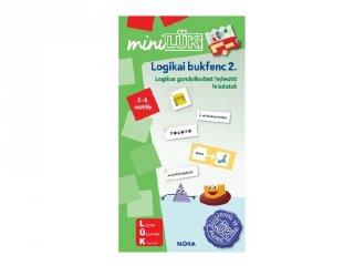 Lük Mini Logikai bukfenc 2. 3-4. osztály, egyszemélyes fejlesztő logikai játék (8-11 év)