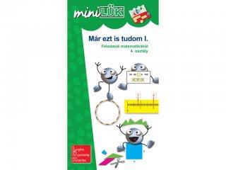 Lük Mini, Már ezt is tudom I., feladatok matematikából, 4. osztály (egyszemélyes, logikai játék, 9-10 év)